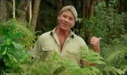 Steve Irwin talks about quarantine from the rainforest