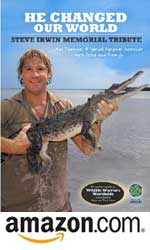 Steve Irwin Tribute DVD at Amazon.com