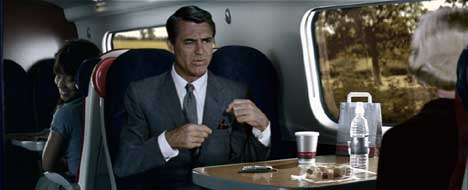 Cary Grant in Virgin Trains ad