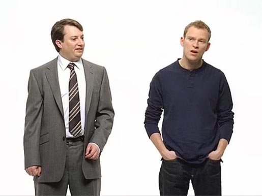 Mitchell and Webb in Apple Get a Mac series
