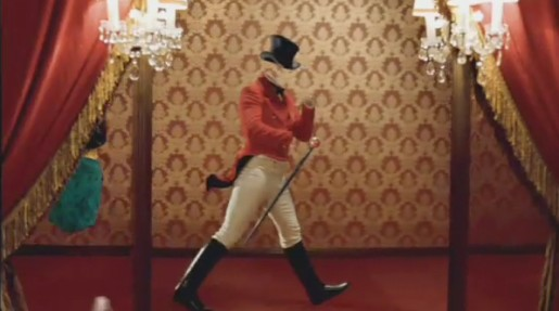 Johnnie - the striding man in Johnnie Walker TV ad