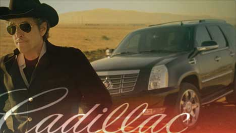 Bob Dylan and Cadillac Escalade