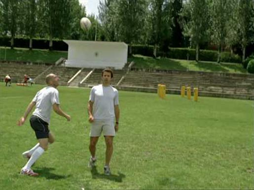 Orange Zinedine Zidane Rugby ad