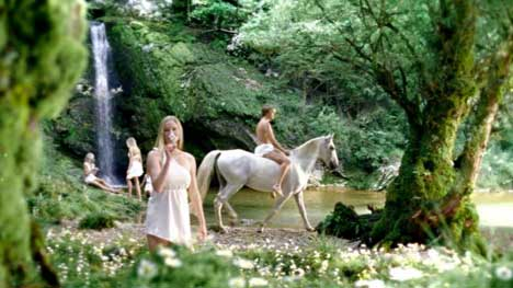 Scenery from Pure Blonde TV Ad