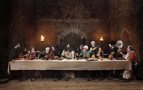 Last Supper in Siminn TV ad
