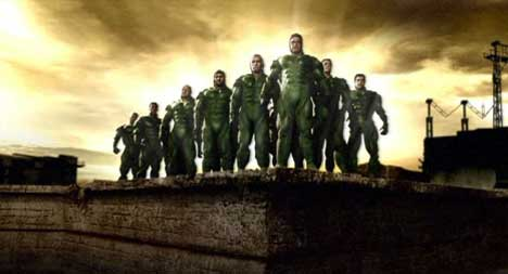 Springboks 15 as Super Heroes