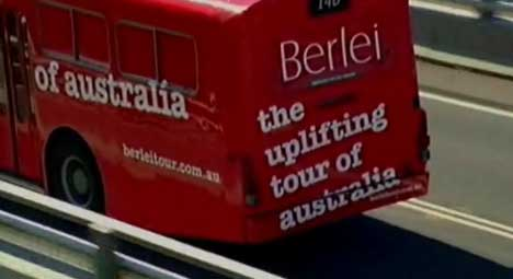 Berlei Uplifting Tour Bus