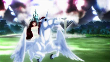 Unicorn and god in Honda Odyssey Van TV ad