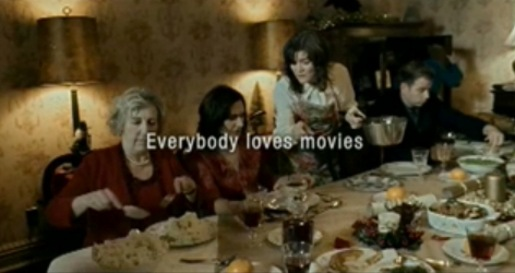 Blockbuster Christmas Meal - Everyone loves movies