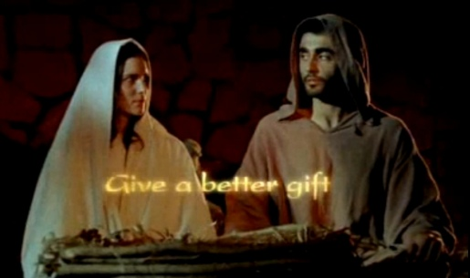 Mary and Joseph Give A Better Gift