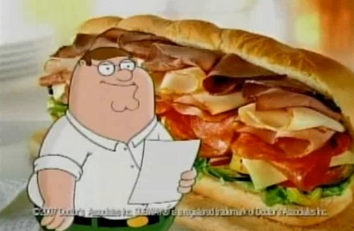 Subway Family Guy