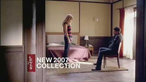 Couple in Levi's Dangerous Liaisons TV ad