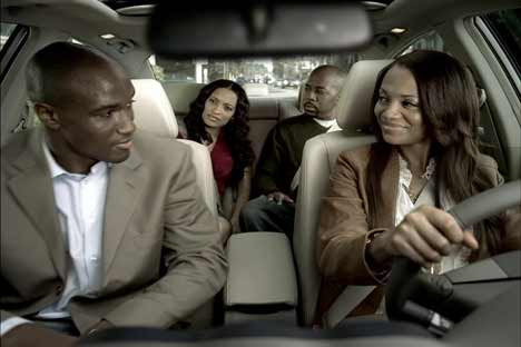 Second glance at boyfriend in Nissan Altima Change Is Good TV ad
