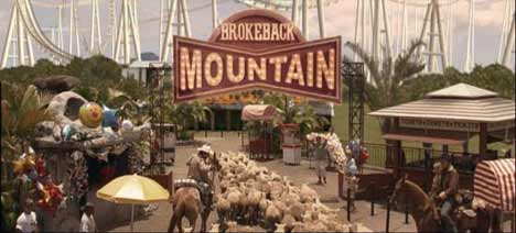 Brokeback Mountain roller coaster theme park