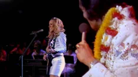 Elvis and Sheryl Crow in Radio 2 TV advert
