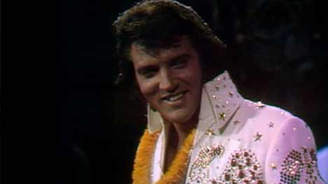 Elvis Presley in Hawaii for Radio 2 TV advert