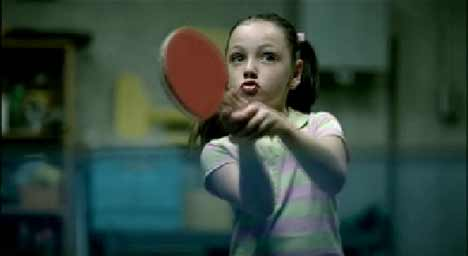 JC Penney Table Tennis shot