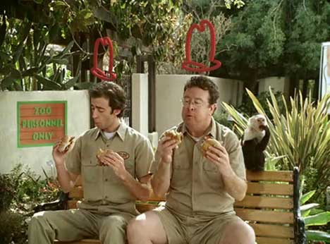 Zookeepers in Arbys TV Ad