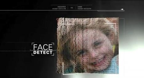 Face Detect feature in Canon Ixus TV ad