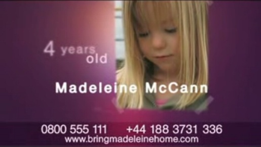 Madleine McCann turning four