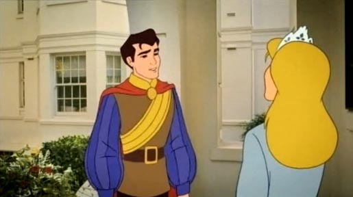 Prince farewells princess in Fling TV ad