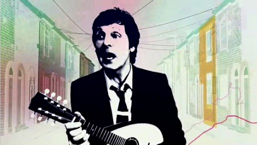 Paul McCartney plays mandolin in iPod iTunes TV commercial