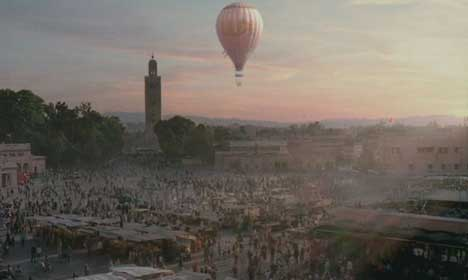 Lux Balloon over Morocco