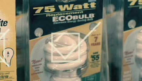 Ecobulbs in SOS Light Bulbs ad