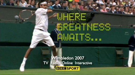 Wimbledon Rally TV ad