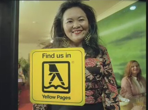 Yellow Pages Thai Harder ad