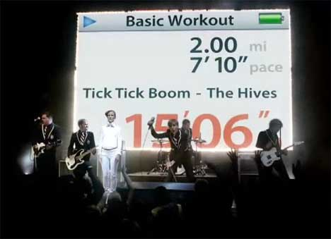 Hives in concert for Nike TV ad