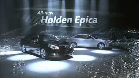 Holden Epica TV ad