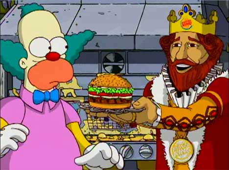 Krusty and Burger King