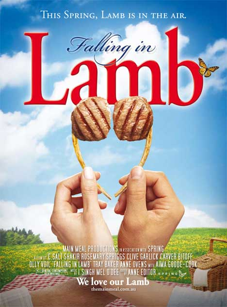Poster for Falling in Lamb