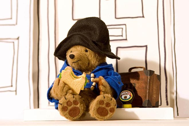Paddington Bear in Marmite TV ad