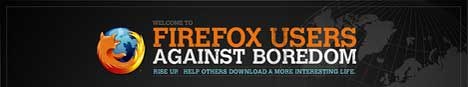 Firefox Users Against Boredom
