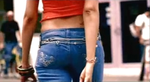 Levis Signature Jeans in TV commercial in India