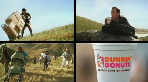 Dunkin Donuts Uphill Battle commercial