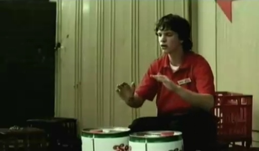 Drummer in The Ad Song