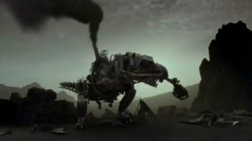 Metallosaurus Rex in Saturn TV commercial