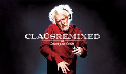 Santa Klaus Remixed in Palm Centro campaign