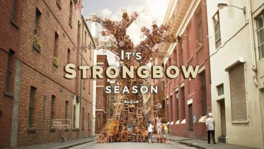 Strongbow Season TV commercial