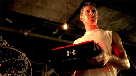 Carl Edwards in Under Armor TV ad