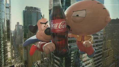 Screenshot from Coca Cola It's Mine ad
