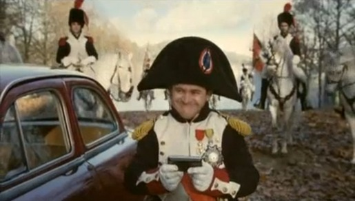 Napoleon in Garmin Nuvi commercial