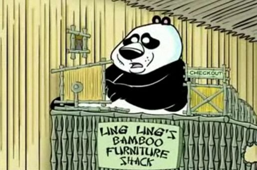 Ling Ling's Bamboo Sticks