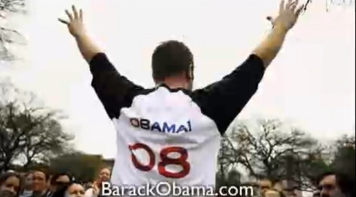 Barack Obama 08 Superbowl ad