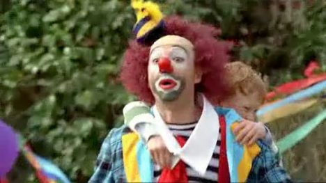 Crackers the Clown in trouble in Yellow Pages Ad