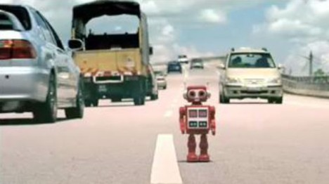 Eveready Robot in Tv ad