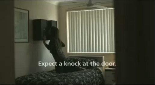 Expect a knock at the door